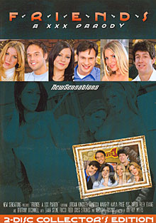 Friends - A XXX Parody Disc 2